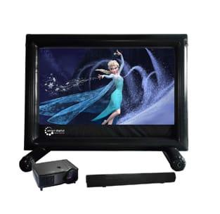 HandiTheatre Pro OUtdoor Cinema System