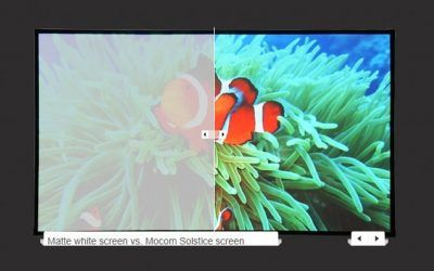 Advanced Projection Screens Are Ultra Bright…Even in Highly-Lit Environments