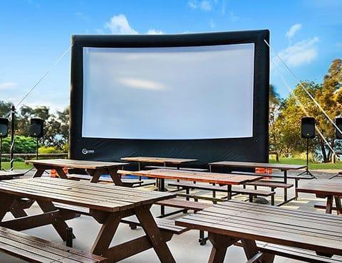 Smart Digital Outdoor Cinema Systems Portable Cinema Screens