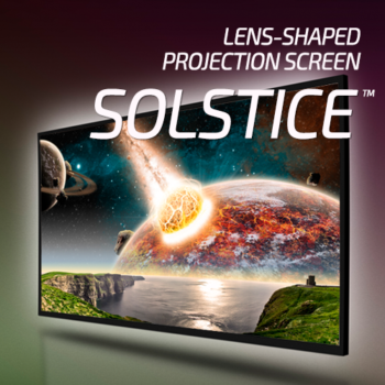Mocom Solstice<sup>&trade</sup> Projection Screens