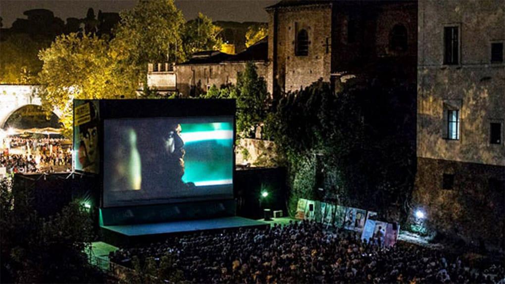 Open Air Cinema in Rome