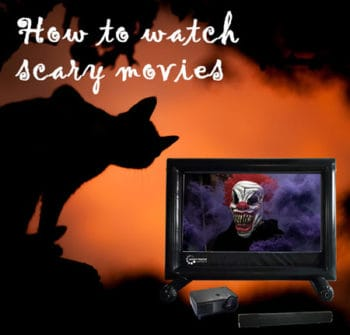 watch horror movies outdoors
